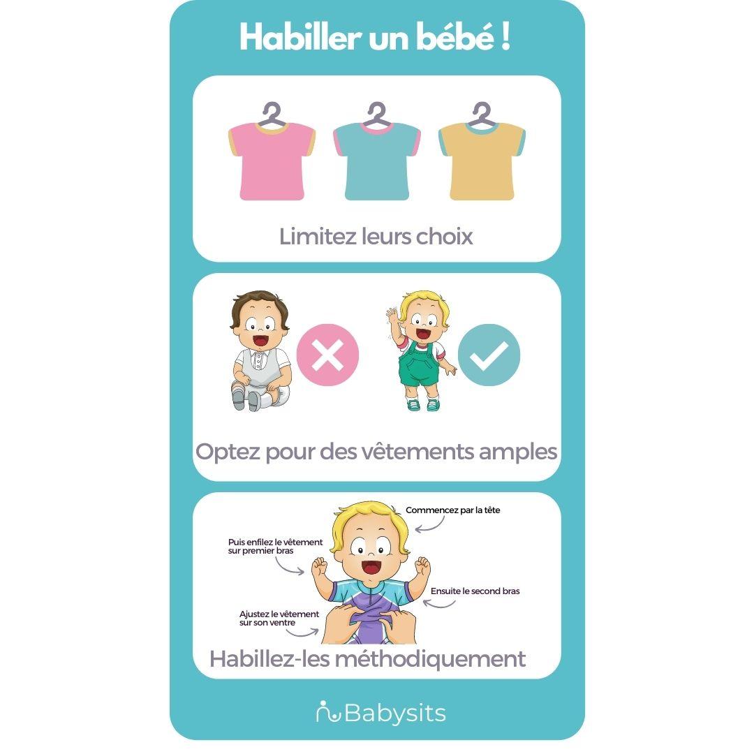 Habiller un bébé