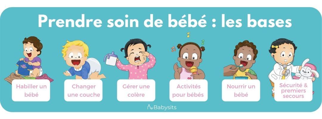 Prendre soin de bébé : les bases