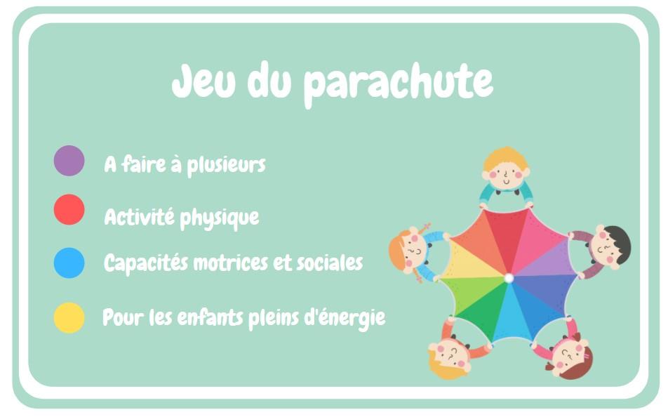 Jeu de Parachute