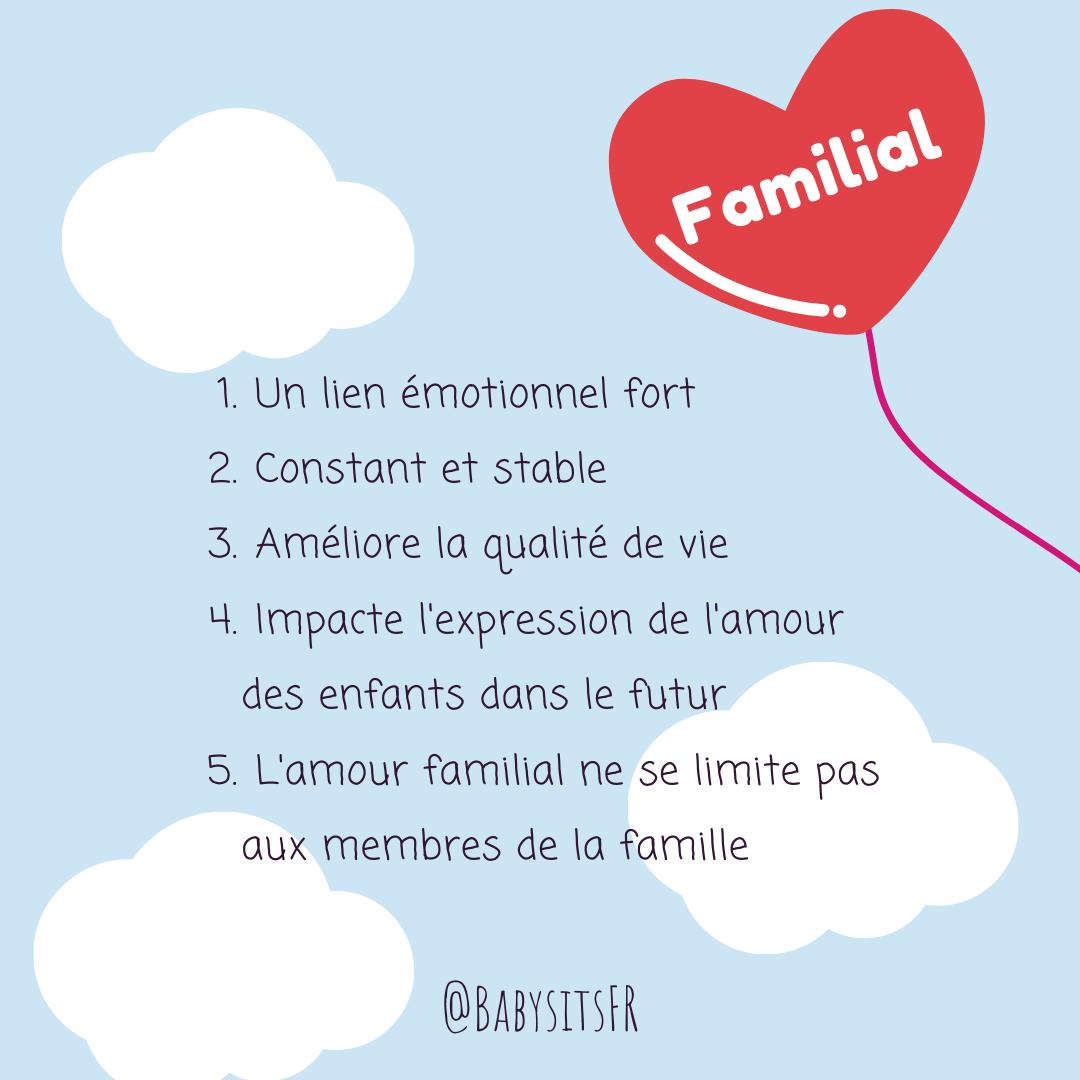 amour familial