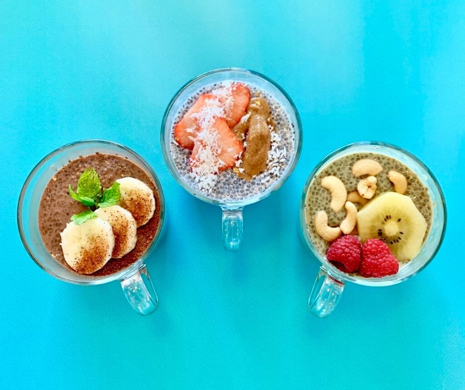 Chia pudding for kids