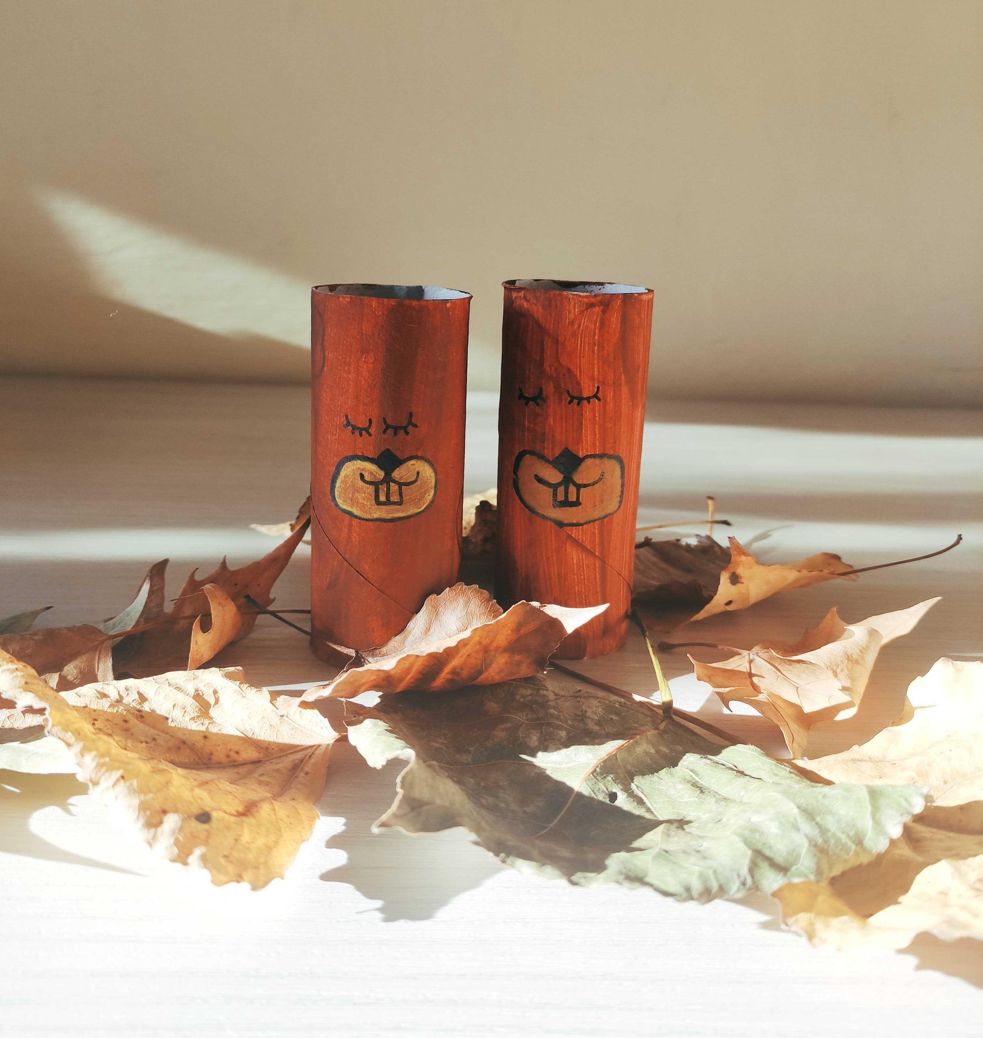Come spiegare l'autunno ai bambini: scoiattoli che vanno in letargo