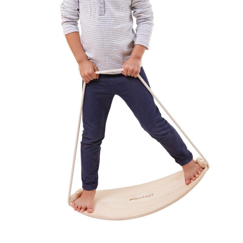 Giochi montessori: balance board