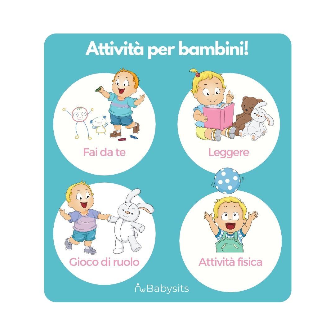 4 attività divertenti da fare con i bambini
