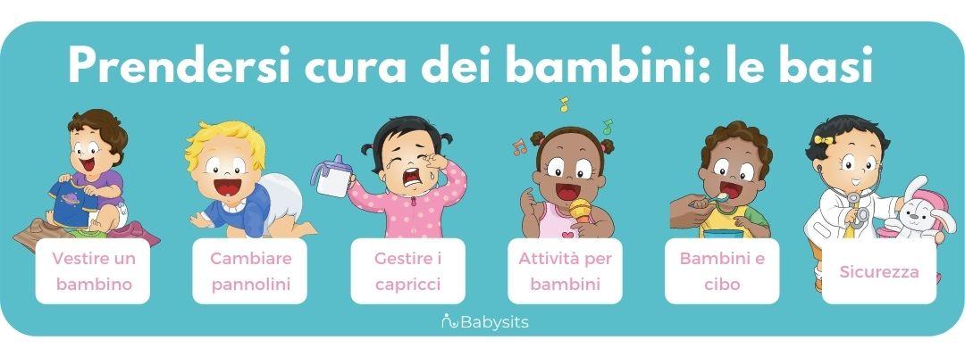 Le 6 cose da sapere per prendersi cura di un bambino