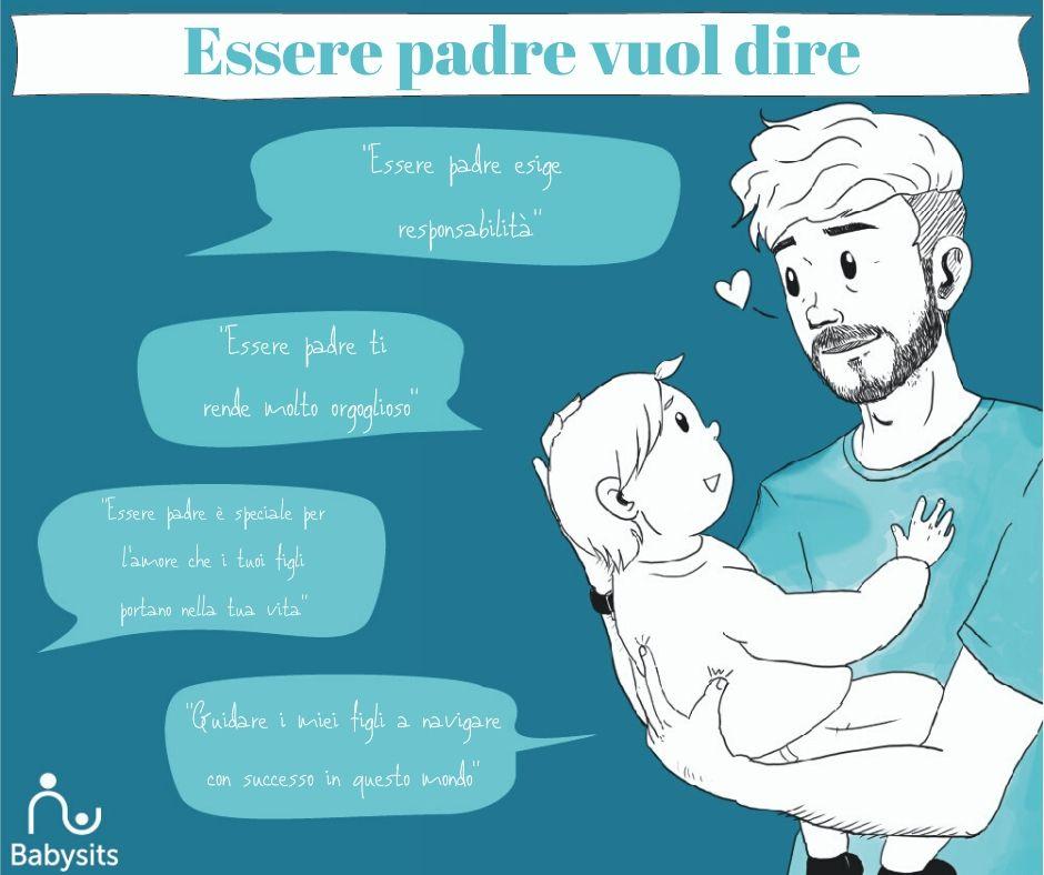Essere padre: l'opinione di alcuni papà