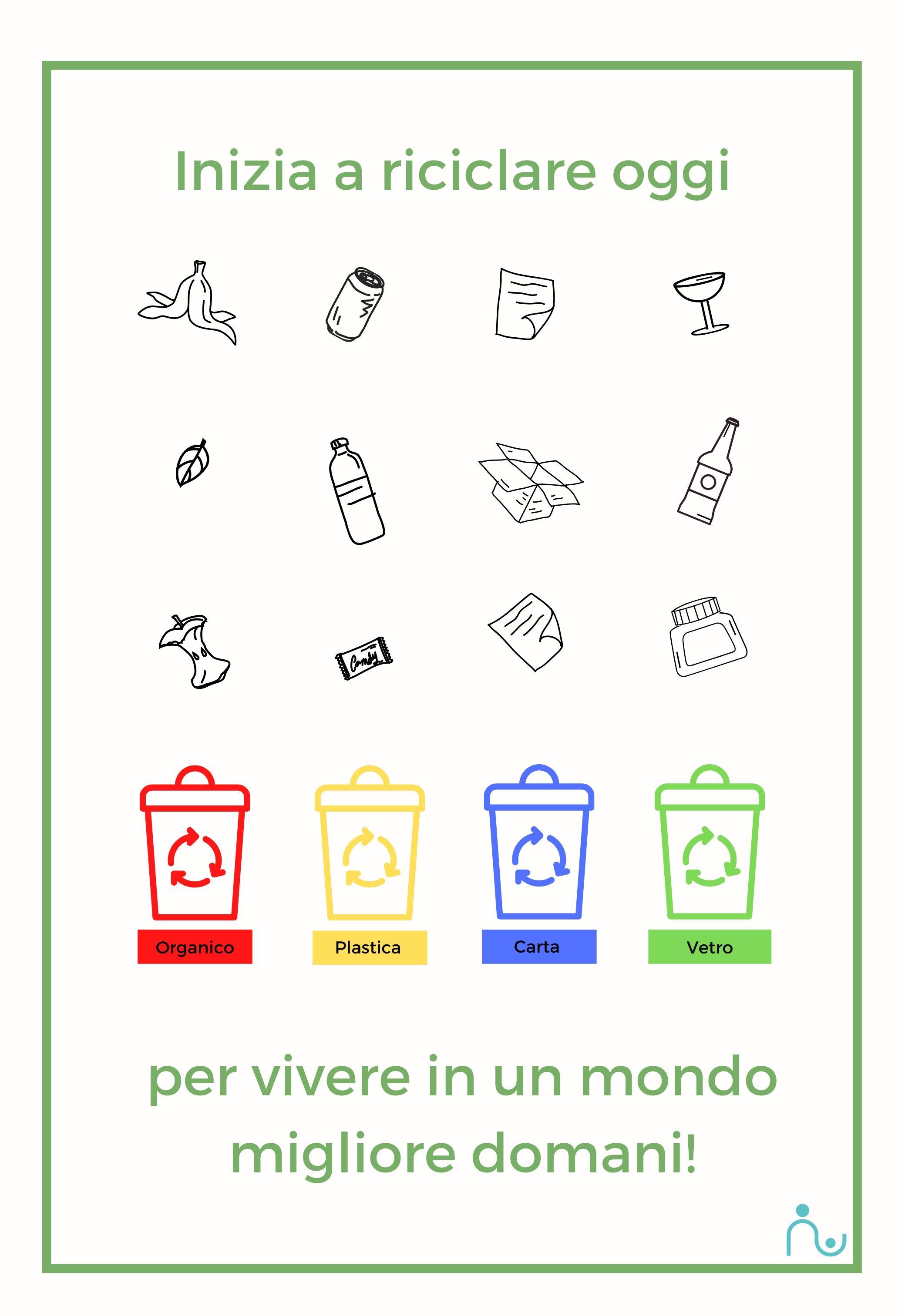 Come riciclare insieme ai bambini