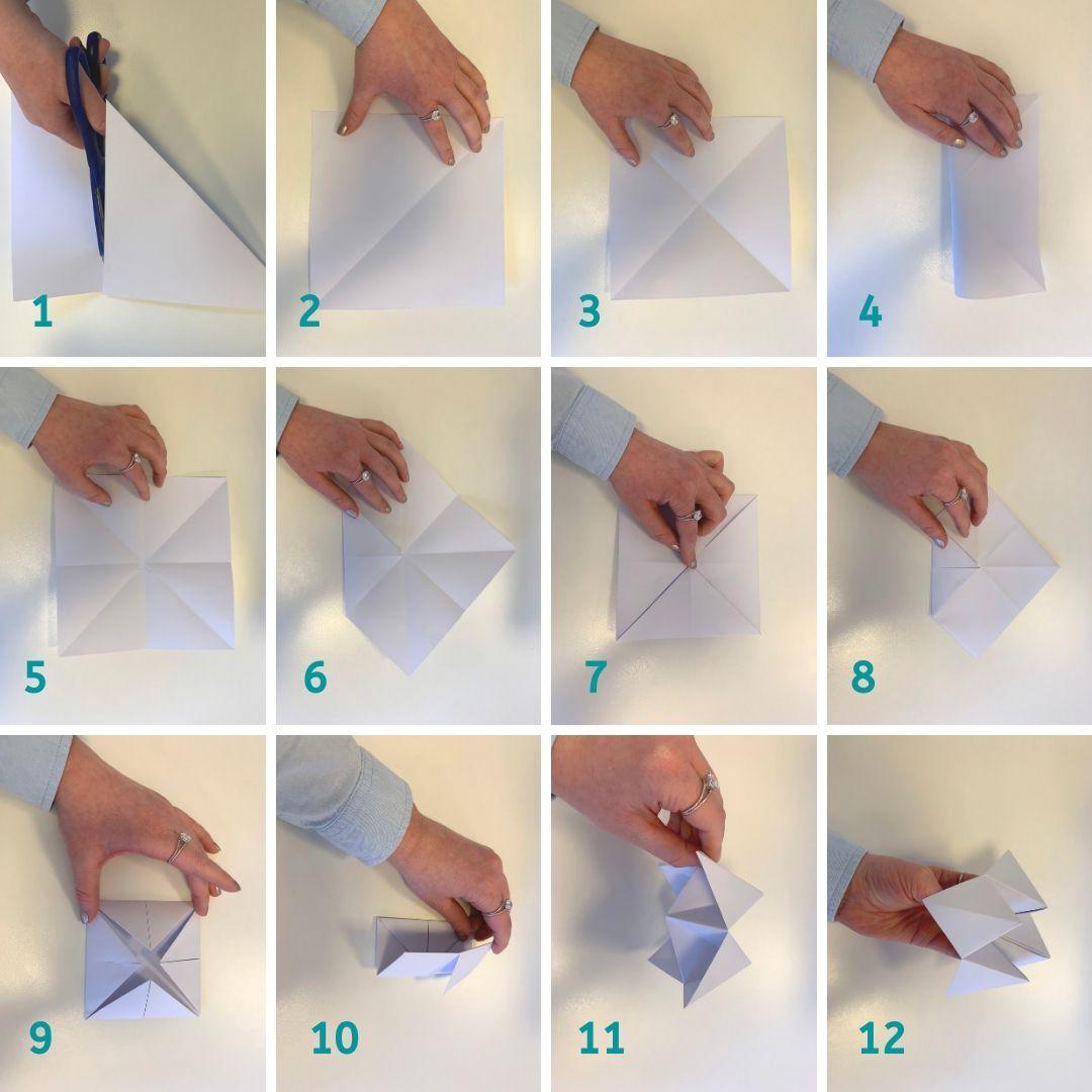 Lavoretti con la carta: L'Origami Inferno e Paradiso