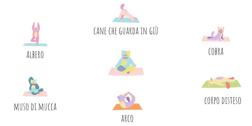 Yoga per bambini: 6 asana semplici da fare