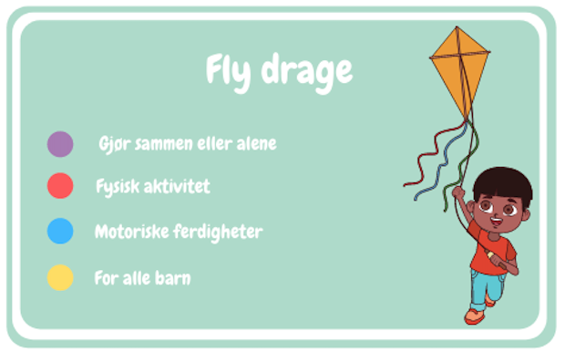 Fly drage
