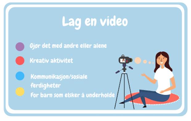 film en video med barn