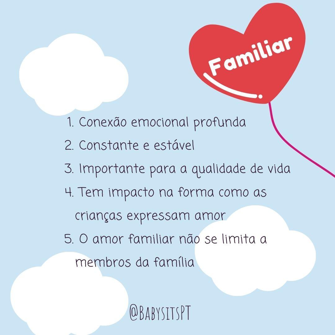 amor familiar
