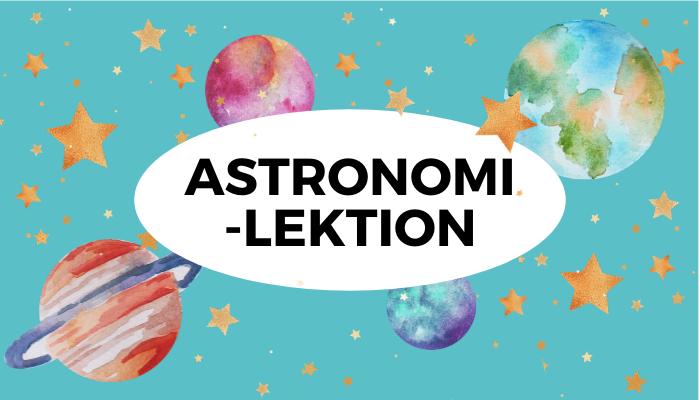 Astronomi för barn