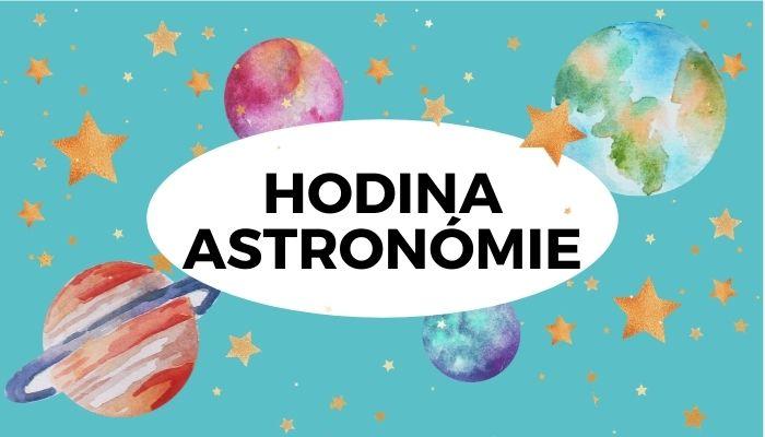 Detská lekcia astronómie Vesmírne tvorenie pre deti