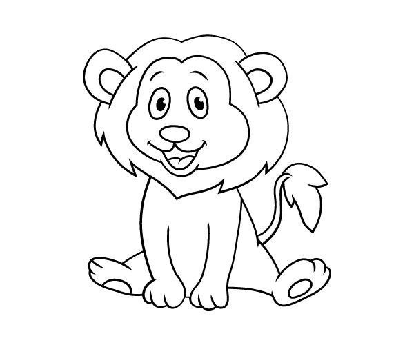 England national animal lion