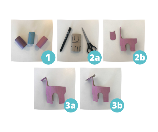 toilet paper roll crafts step by step instructions