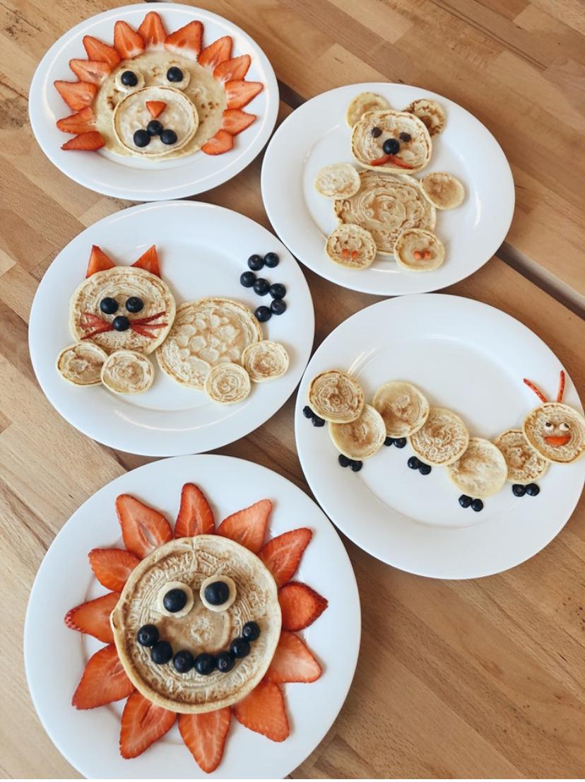 Recette de pancakes sain facile pour enfants