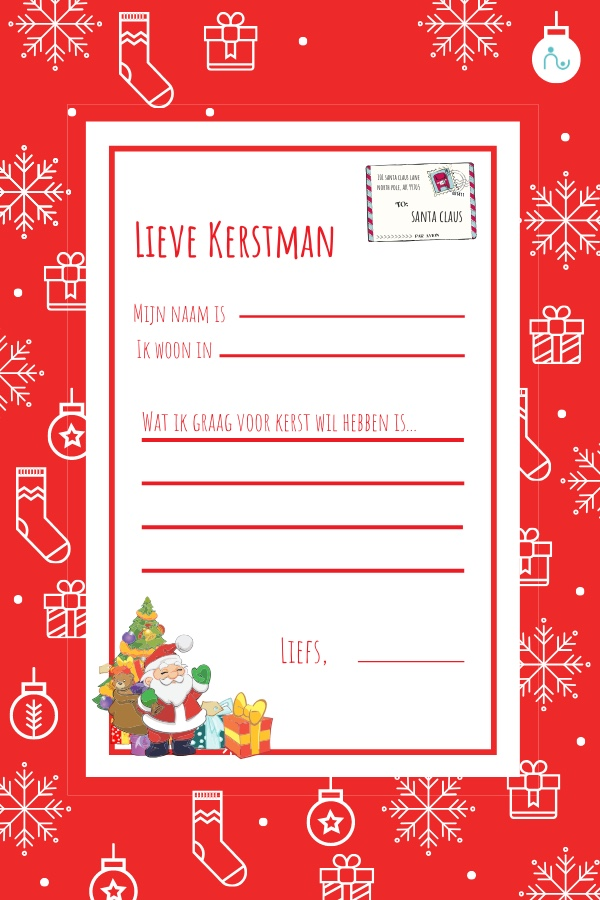 Brief naar de Kerstman