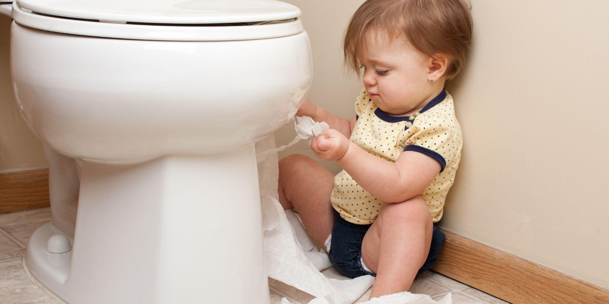 Toiletten-Training für Kleinkinder