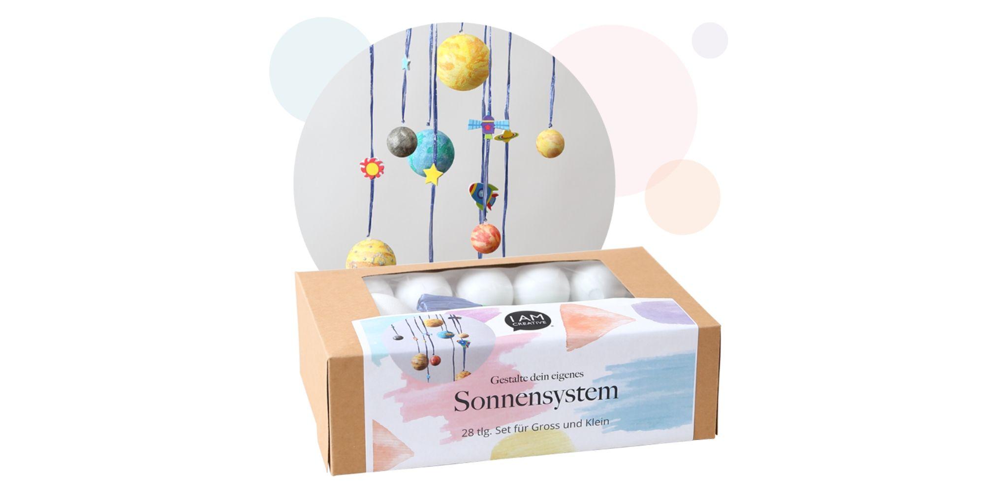Bastelbox fürs eigene Sonnensystem