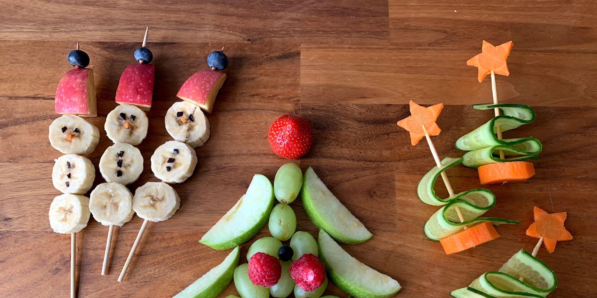 Gesunde Snacks für Weihnachten