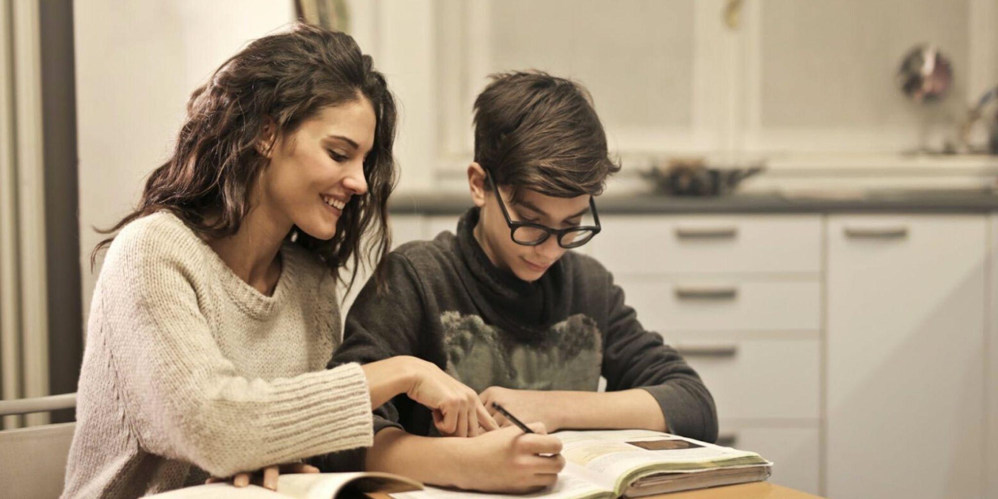 Hausaufgabenunterstützung und Fernunterricht