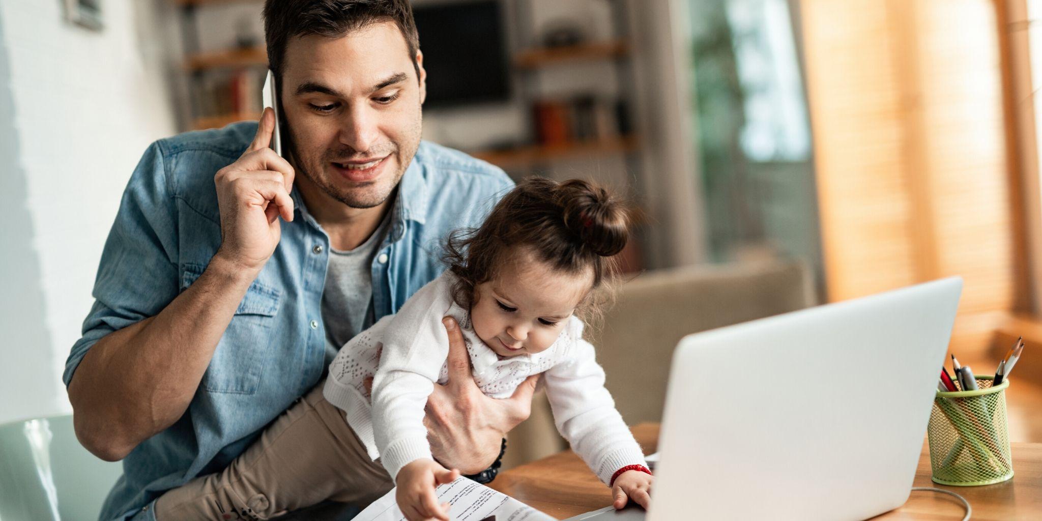 Homeoffice: effektiv arbeiten Zuhause