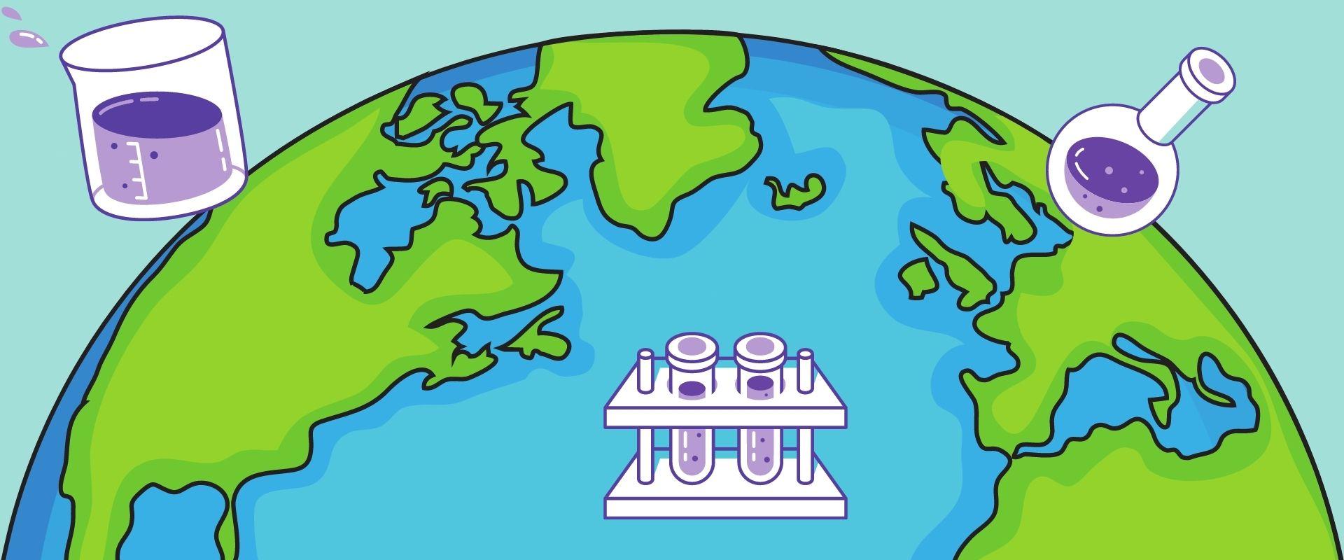 Klimawandel einfach erklärt für Kinder mit einfachen Experimenten