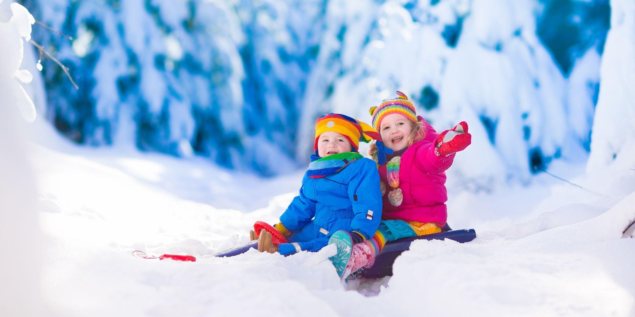 Winteraktivitäten für Kinder