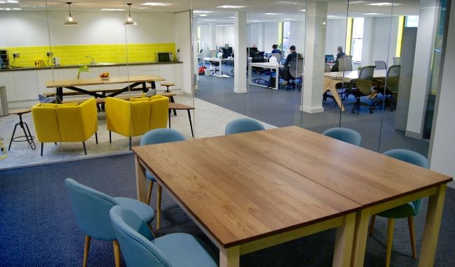 Co-working spaces helping parents