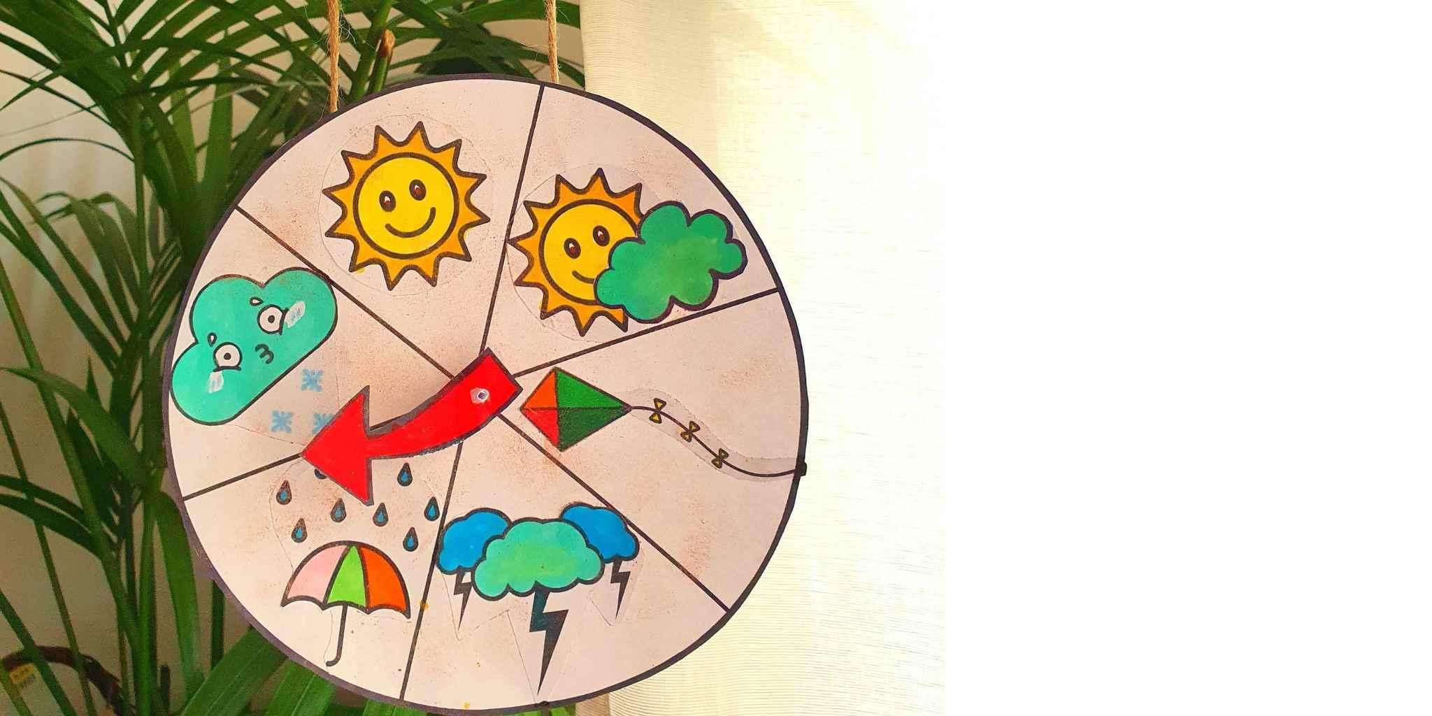 Kids Climate versus Weather DIY