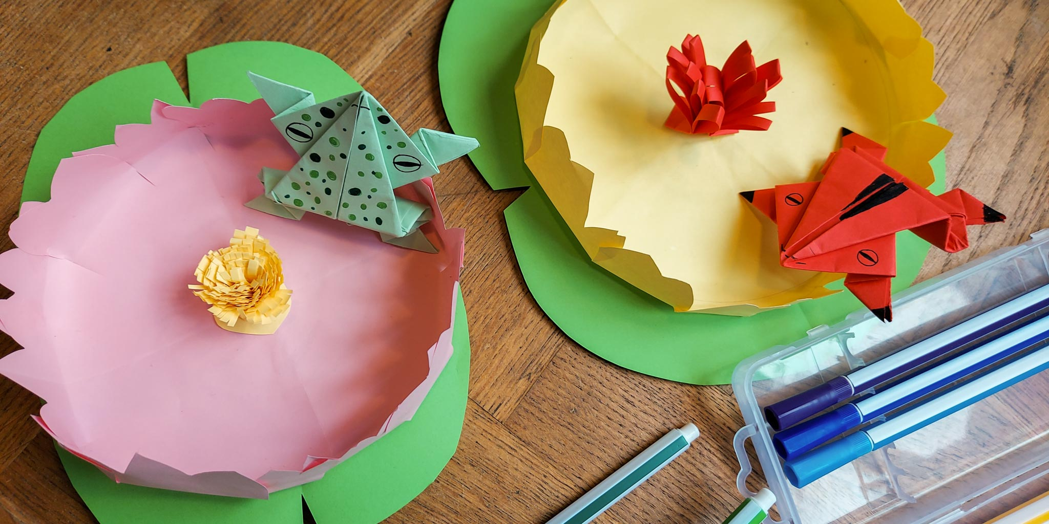 Welcome Spring with this Racing Frogs DIY