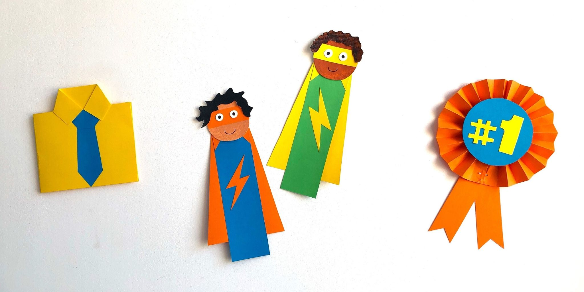 3 Easy Father's Day Crafts for Kids
