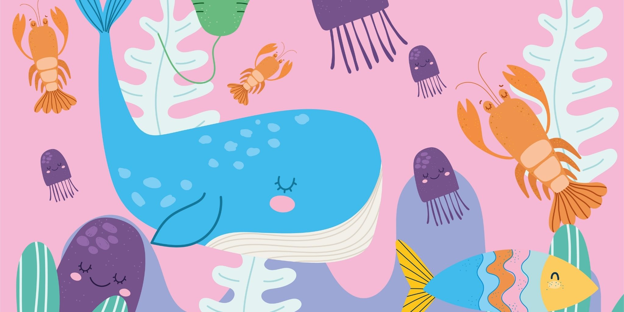 Animal Crafts: Cute Sea Creatures