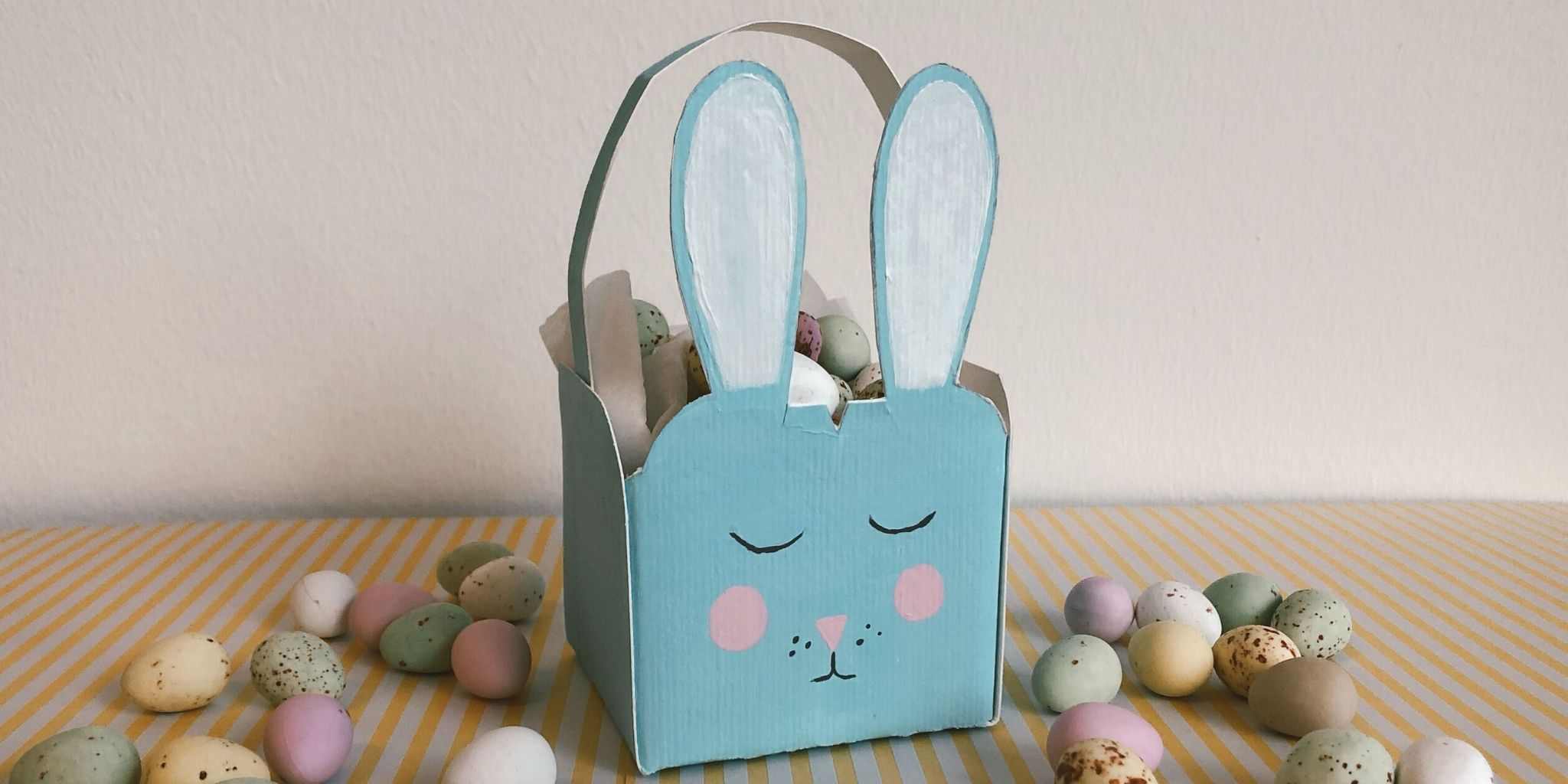 Bunny Basket DIY for Easter