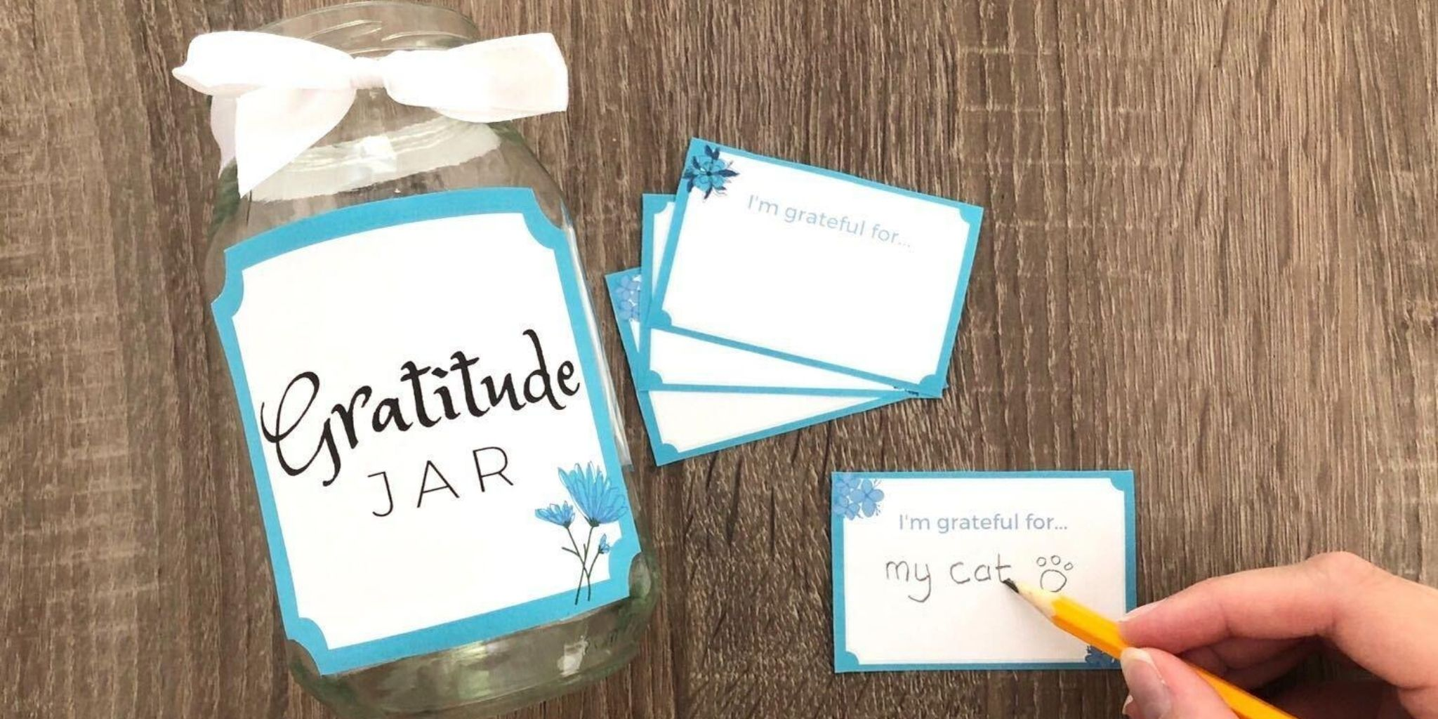 Mindfulness Activity for Kids - Gratitude Jar