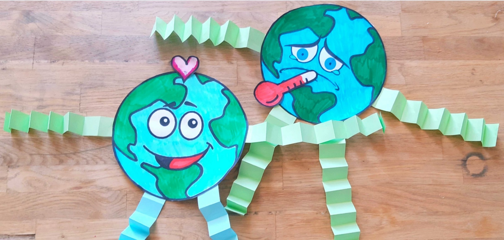 Mother Earth and Climate Change Craft DIY
