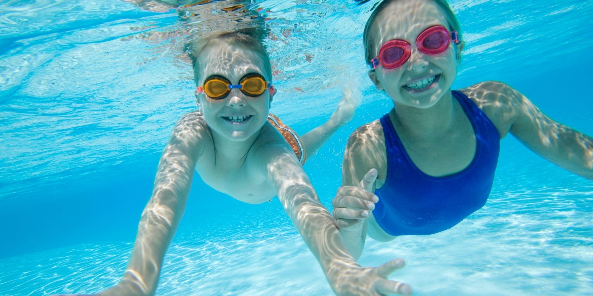 Tips for teaching children to swim