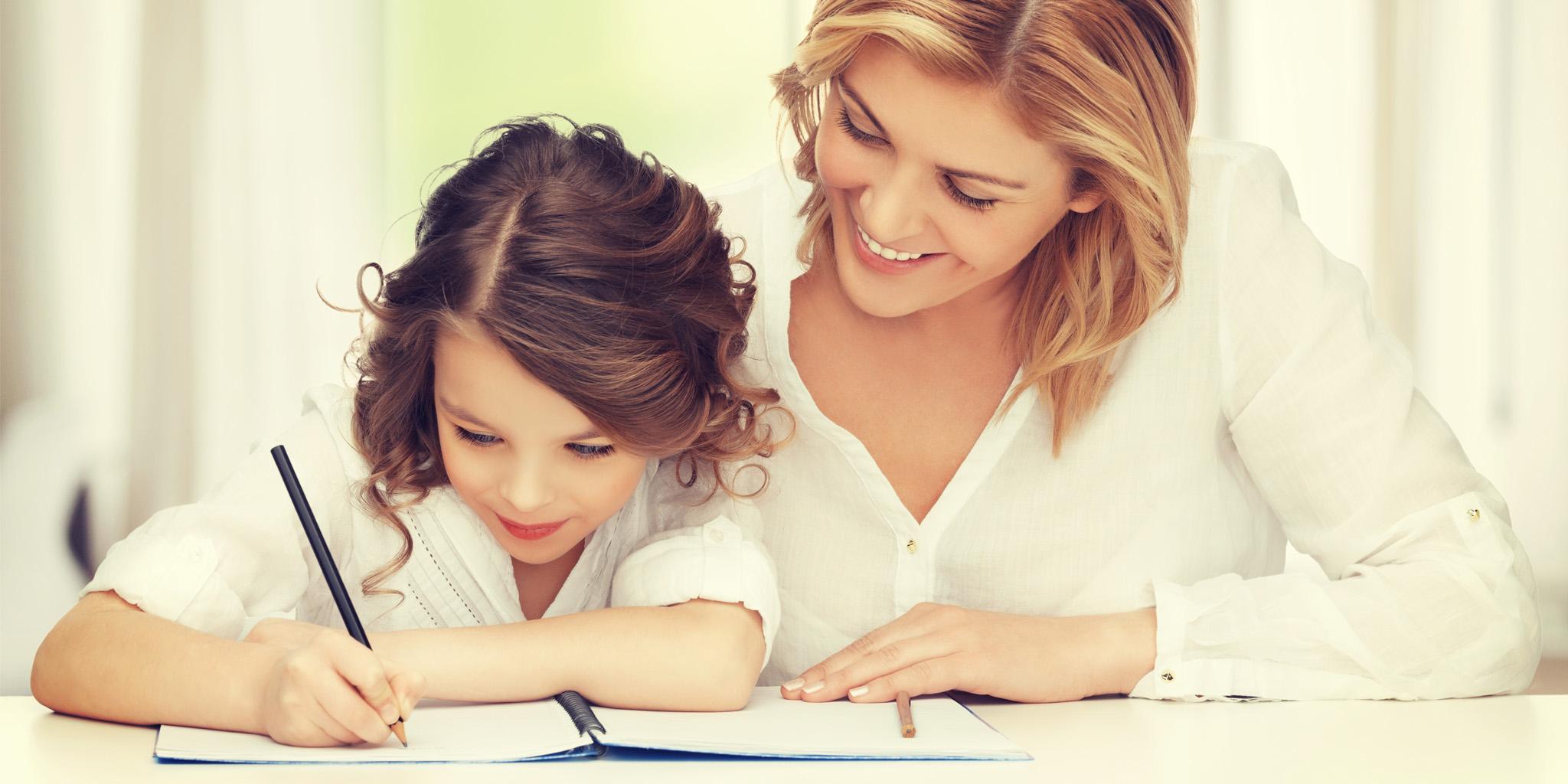 Ayudar a los niños con la tarea