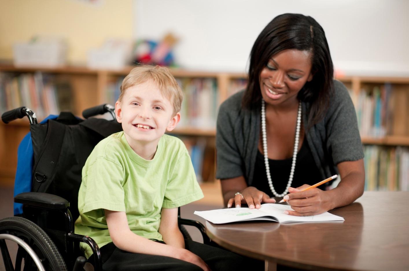 Cuidado infantil de niños con necesidades especiales