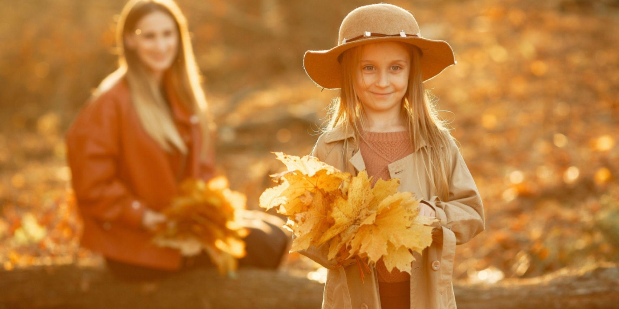 Las 4 mejores manualidades de otoño para niños