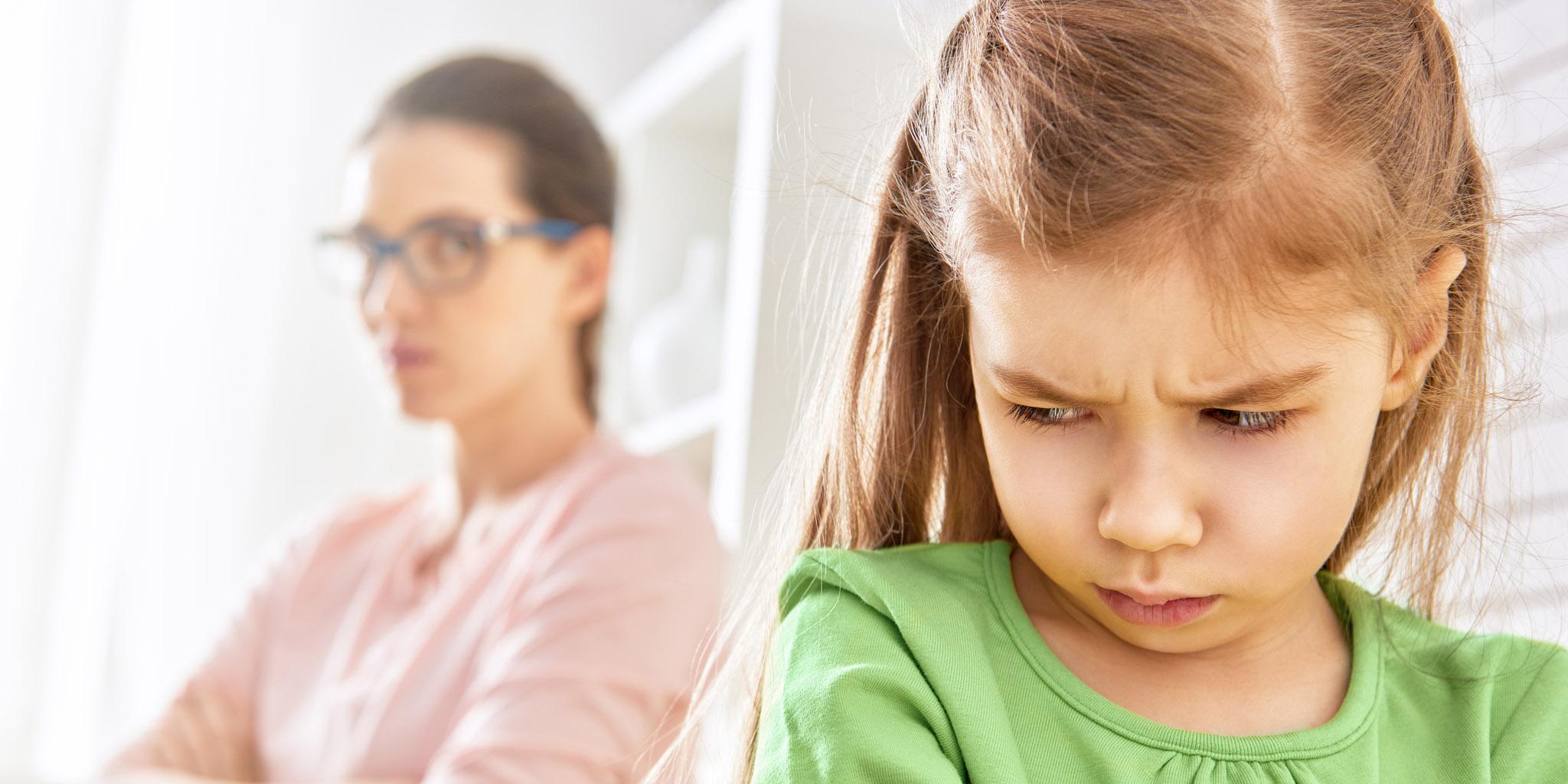 Tõrksa lapse hoidmine