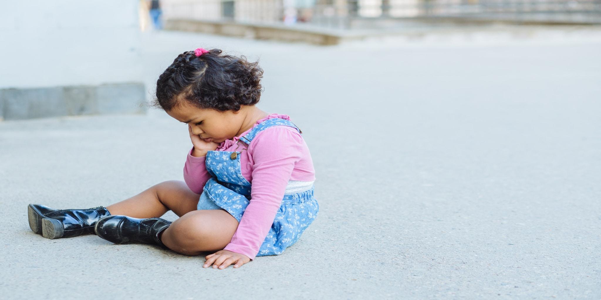 Lapsen eroahdistus: oireet ja vinkit