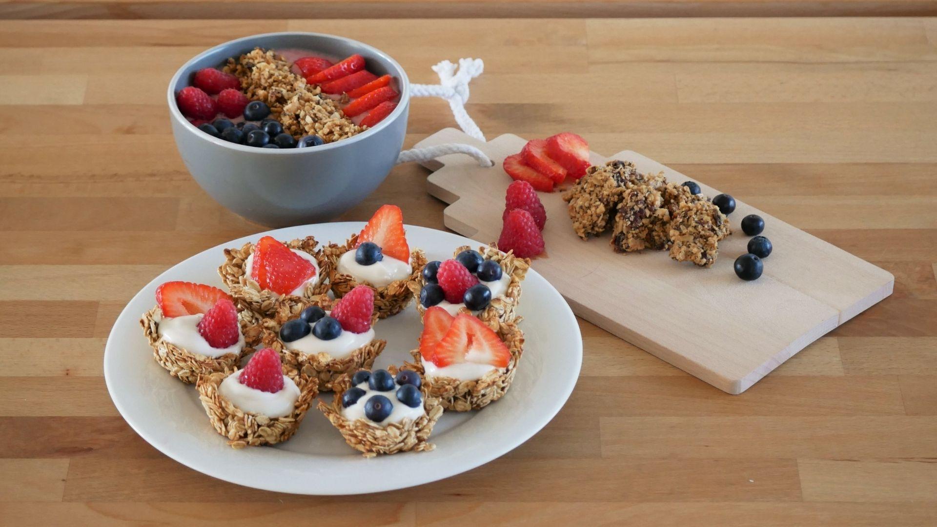3 recettes gourmandes de granola pour les enfants