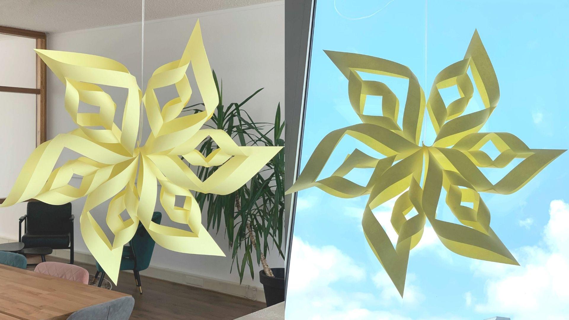 Soleil en papier | Activité créative pour enfants