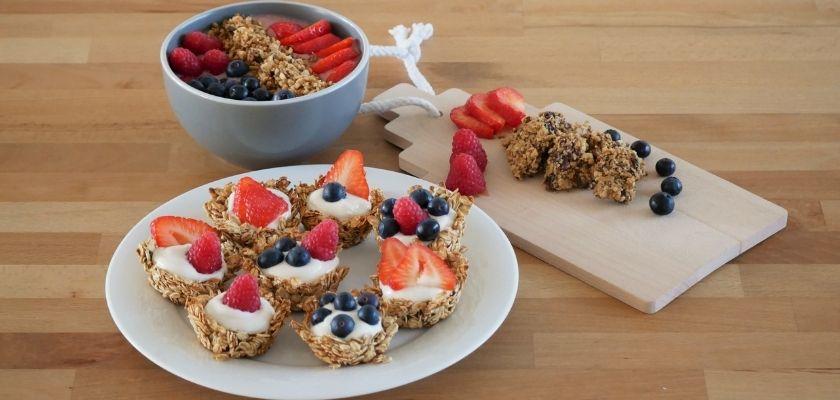 3 ízletes recept hogy rávegyük a gyerekeket a granola evésre