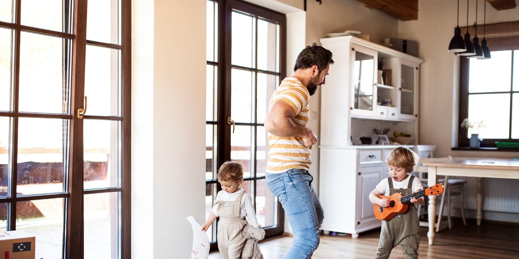 20 giochi creativi da fare in casa con i bambini
