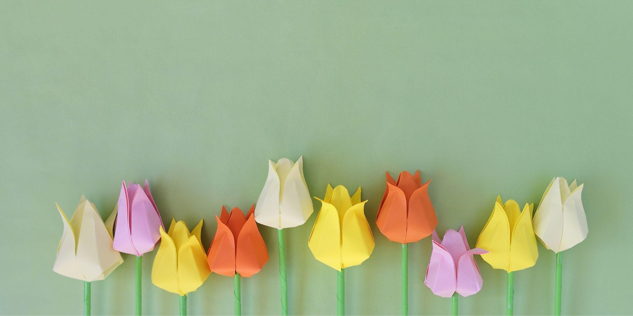3 origami di primavera da fare con i bambini