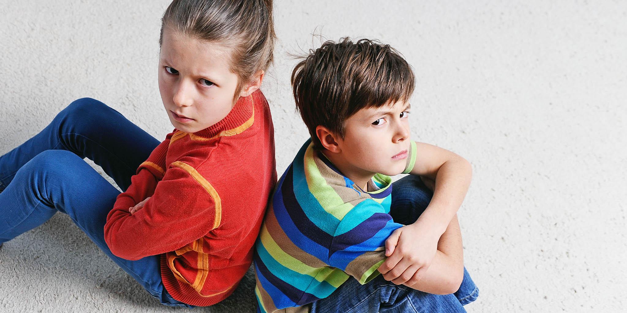 Come gestire i bambini oppositivi