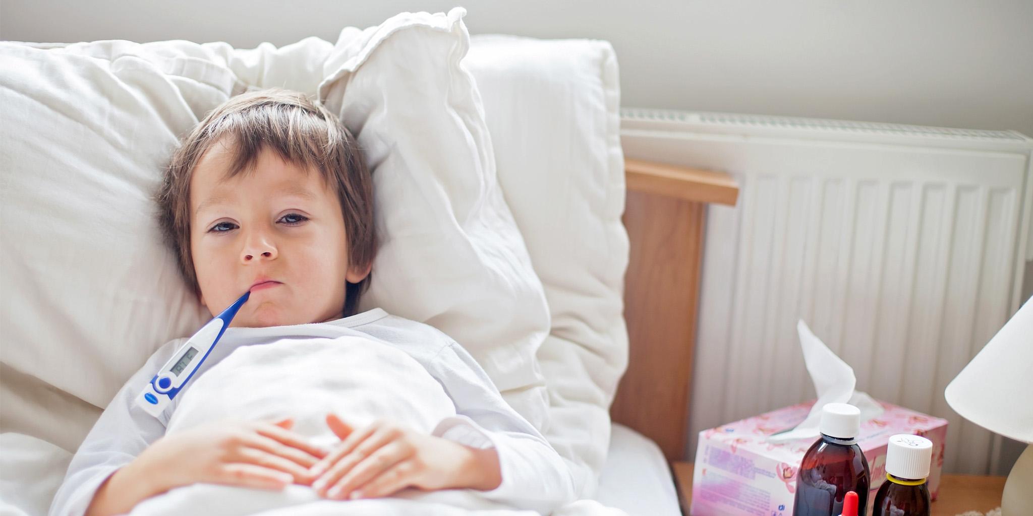 Bambini ammalati: cosa fare